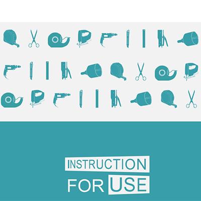 IFU folder design graphic branding