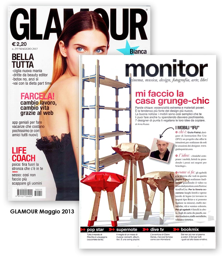 Scansione giornale Glamour